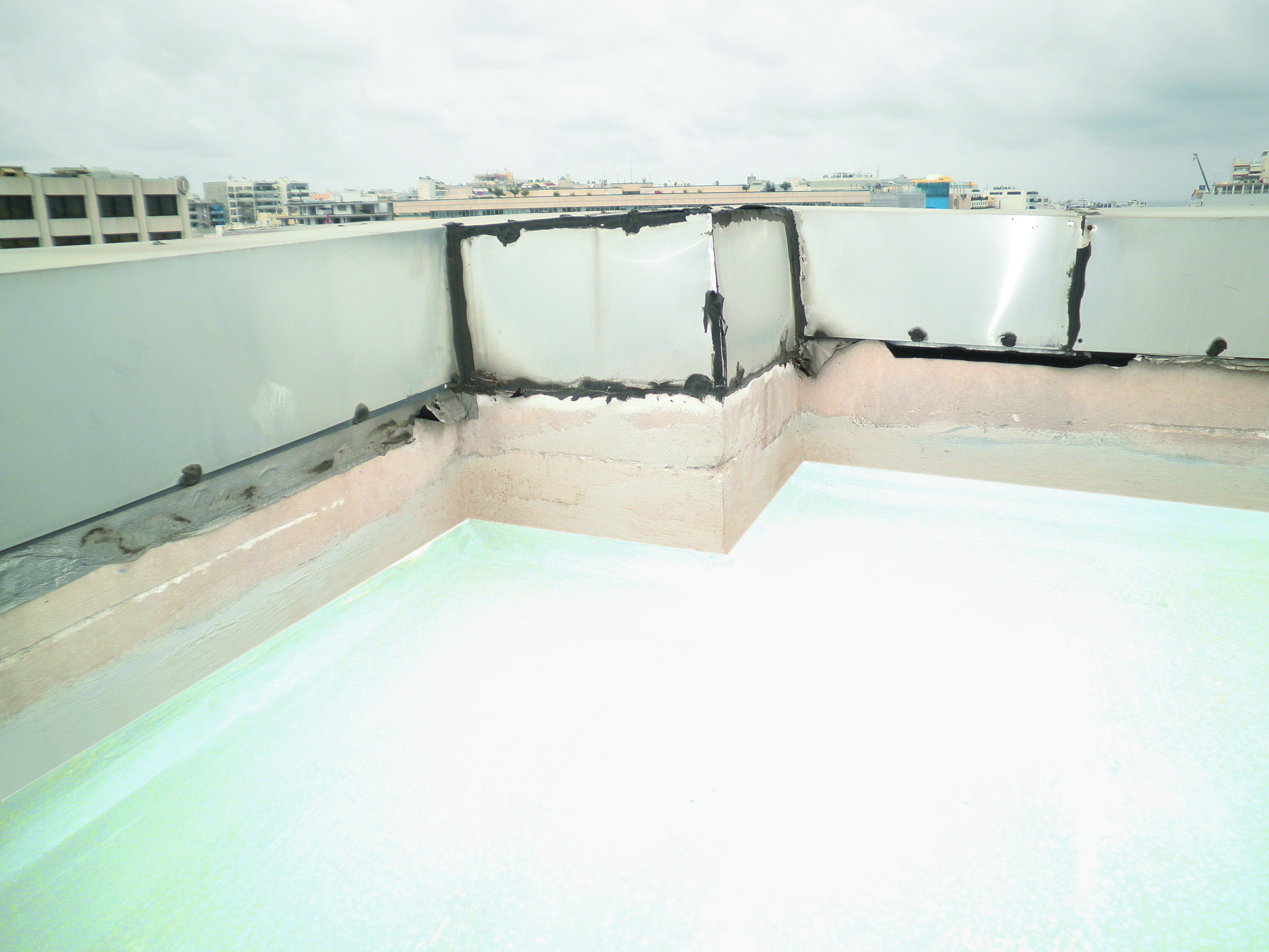 Waterproofing systems thrakon for Terrace waterproofing